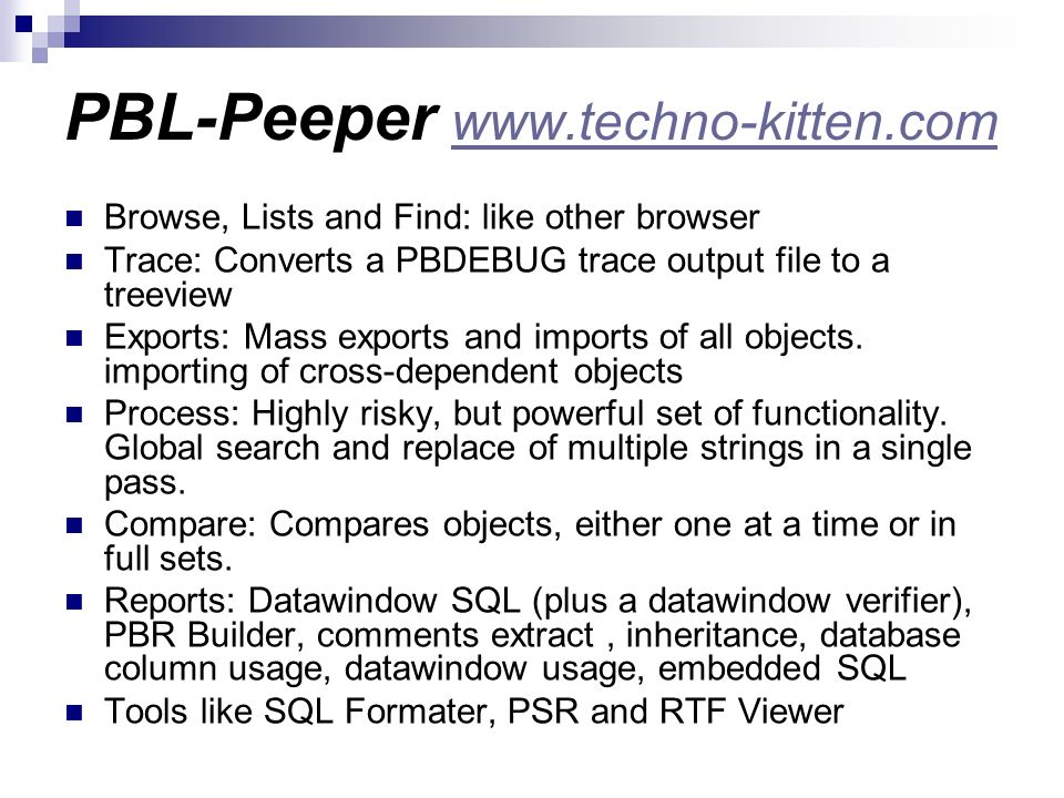PBL-Peeper www.techno-kitten.com