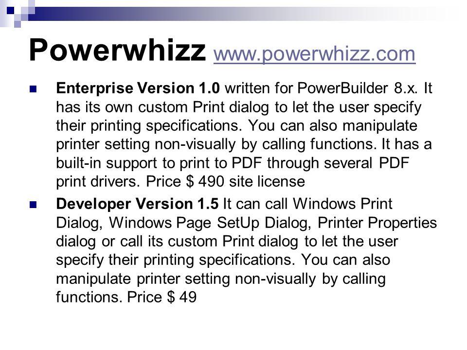Powerwhizz www.powerwhizz.com