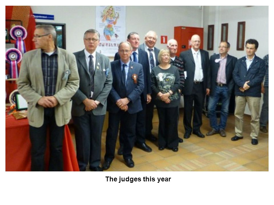 The judges this year