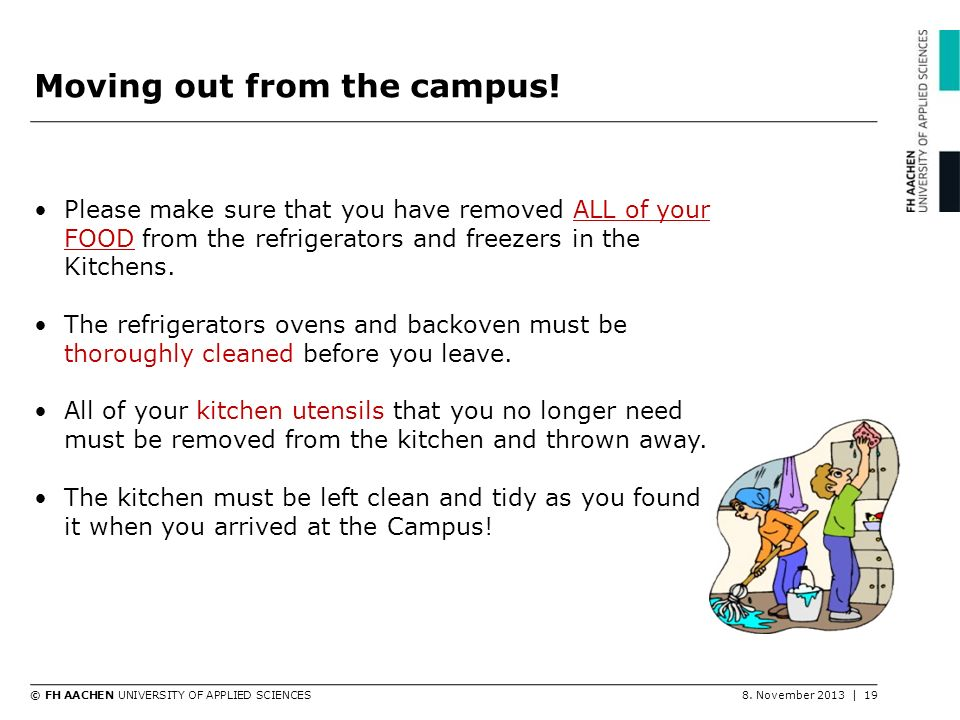 Moving out from the campus!