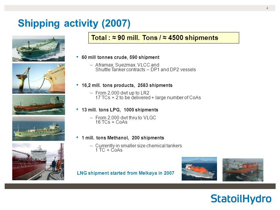 LNG shipment started from Melkøya in 2007