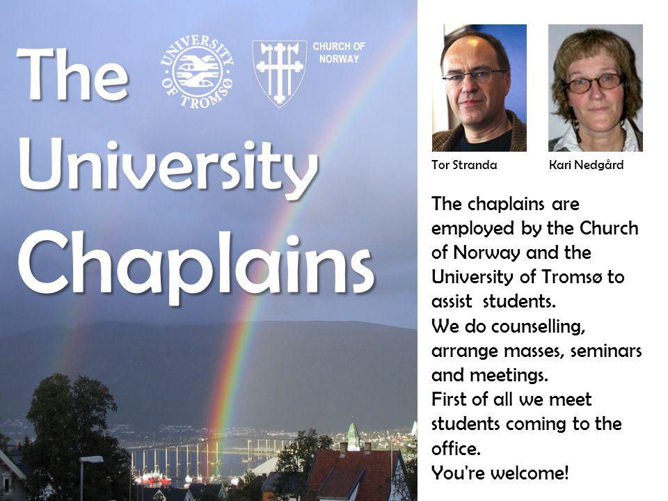Chaplains The University