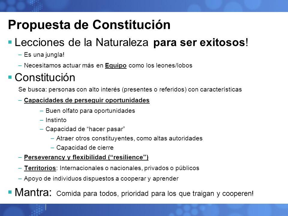 Propuesta de Constitución