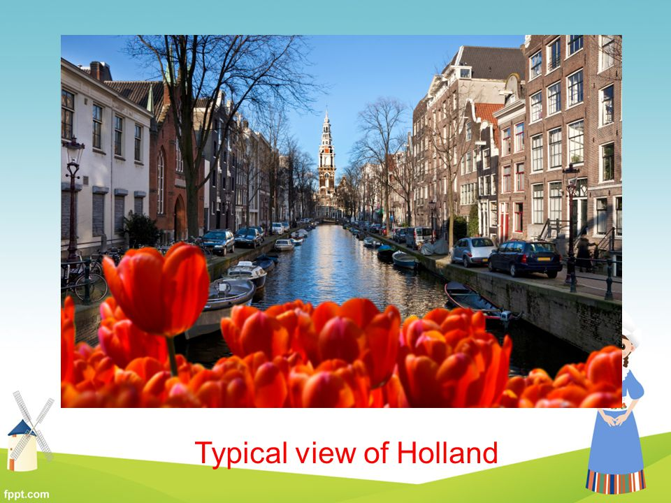 Typical view of Holland