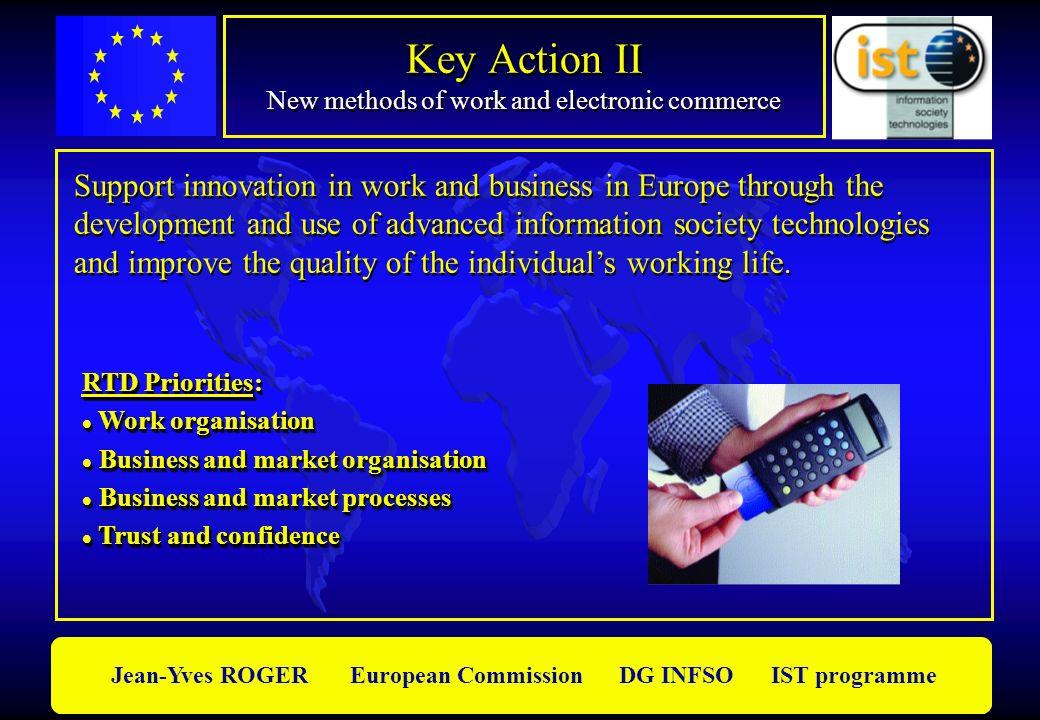 Key Action II New methods of work and electronic commerce