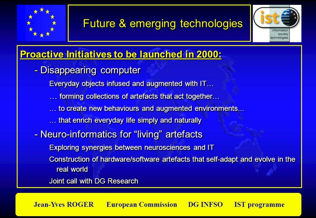 Future & emerging technologies