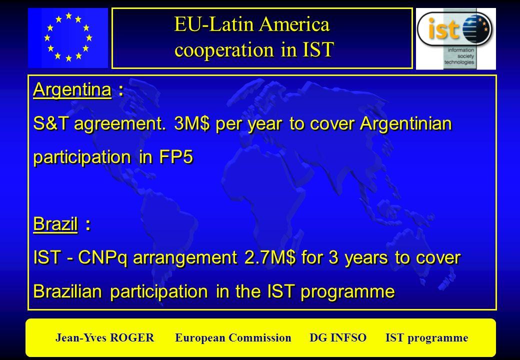 EU-Latin America cooperation in IST Argentina :