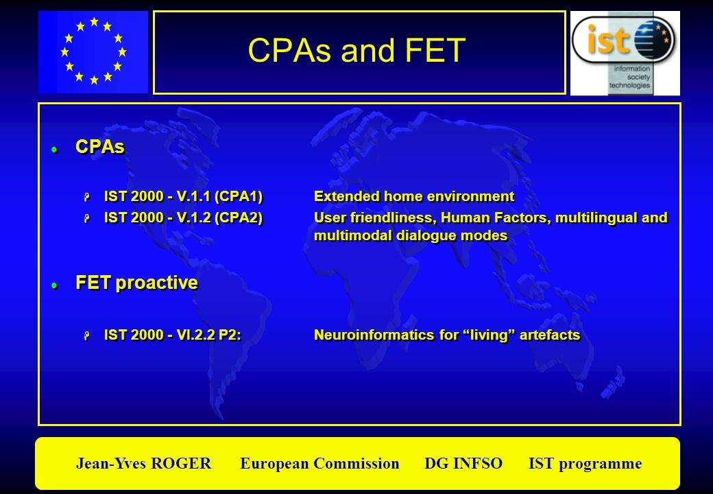 CPAs and FET CPAs FET proactive