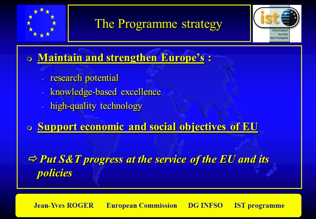 The Programme strategy