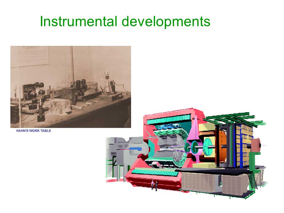Instrumental developments