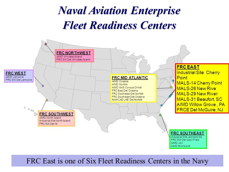 Naval Aviation Enterprise Fleet Readiness Centers