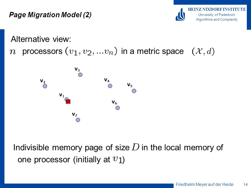 Page Migration Model (2)