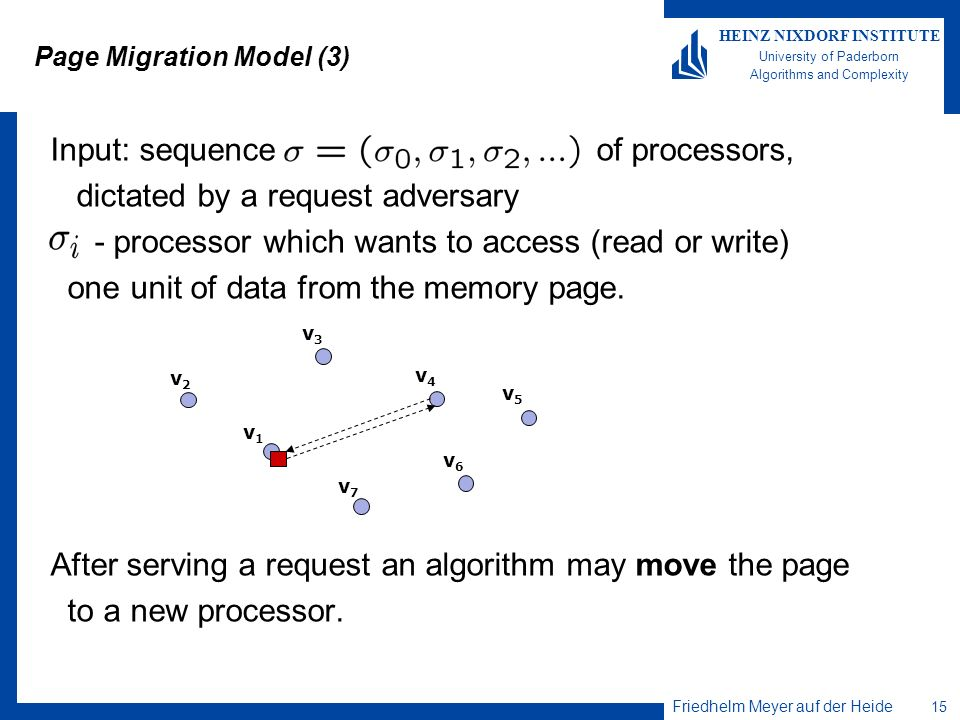 Page Migration Model (3)