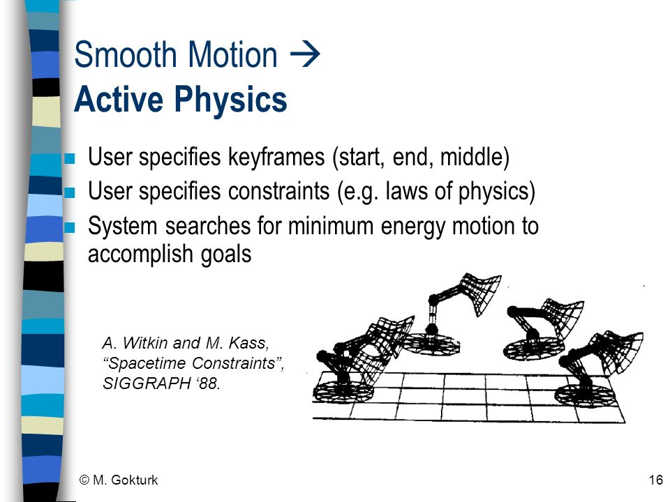 Smooth Motion  Active Physics