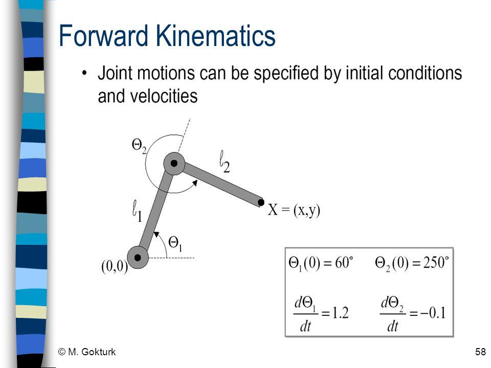 Forward Kinematics © M. Gokturk