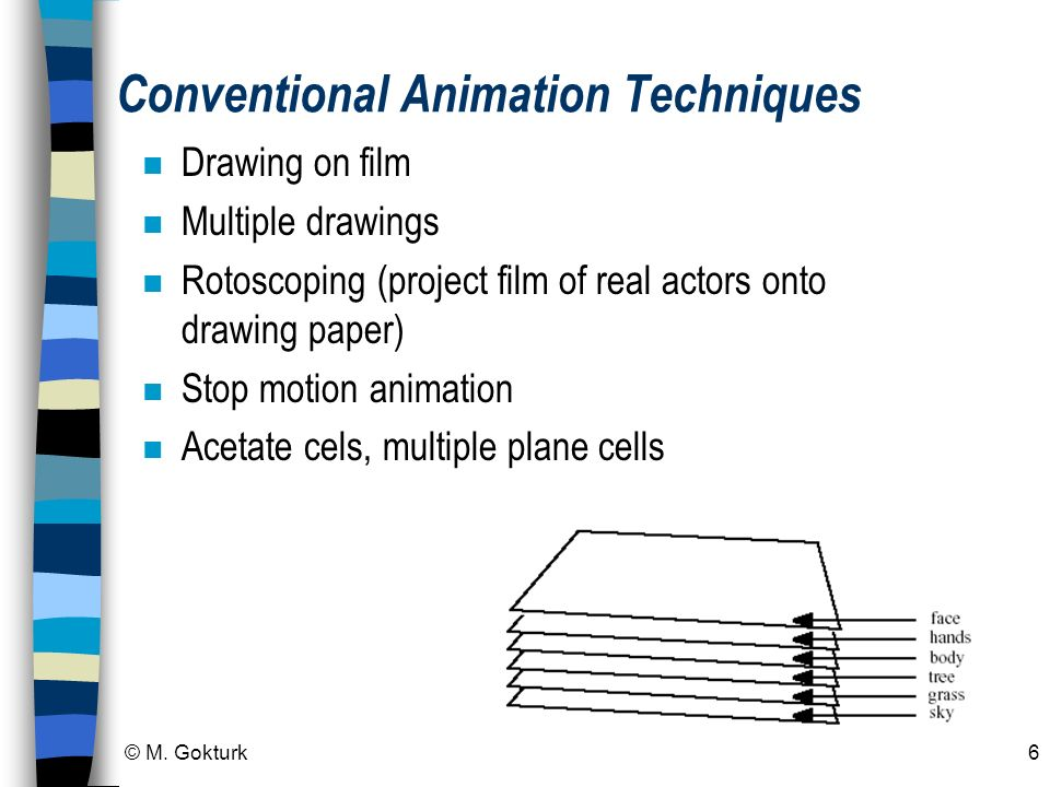 Conventional Animation Techniques
