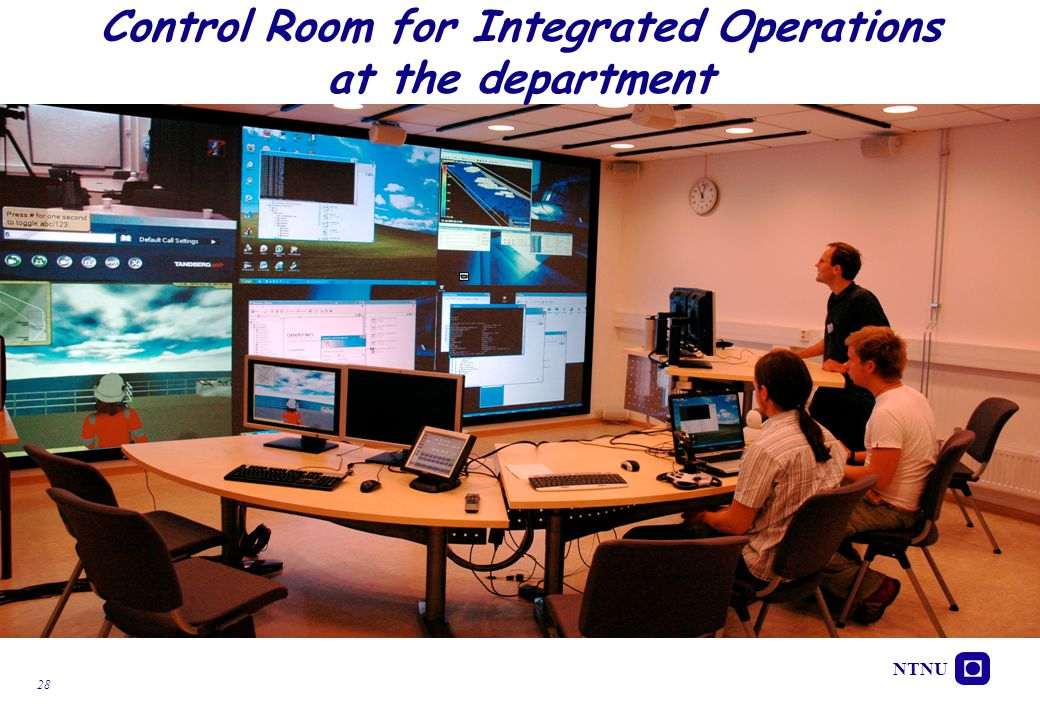 Control Room for Integrated Operations