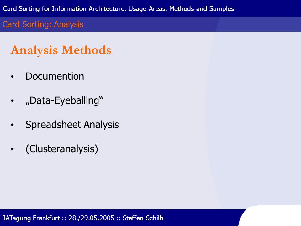 "Analysis Methods Documention ""Data-Eyeballing Spreadsheet Analysis"