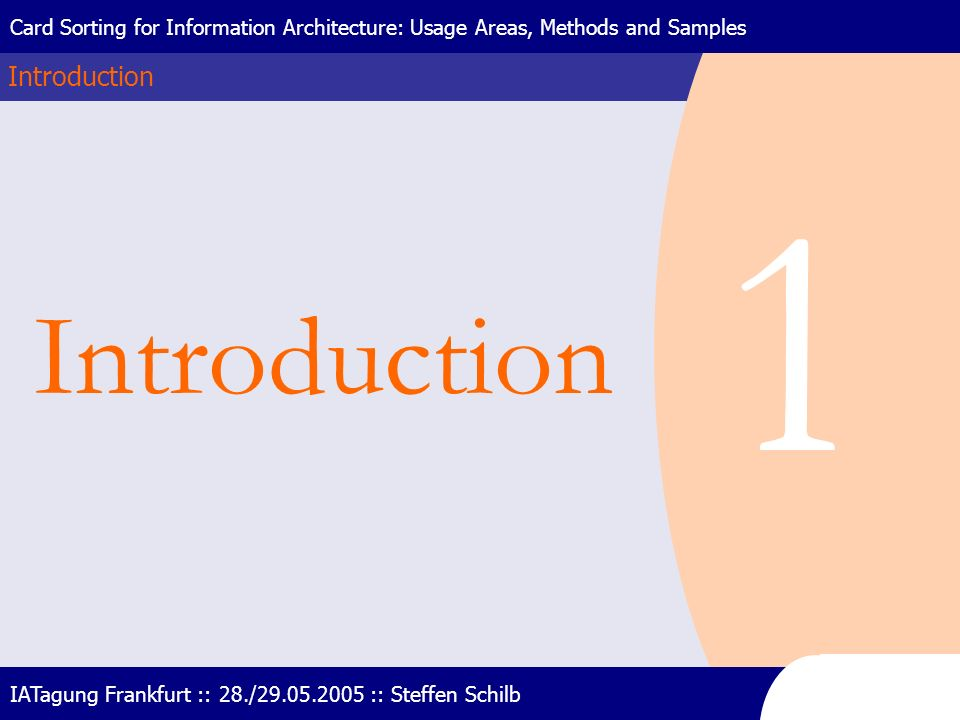 1 Introduction Introduction