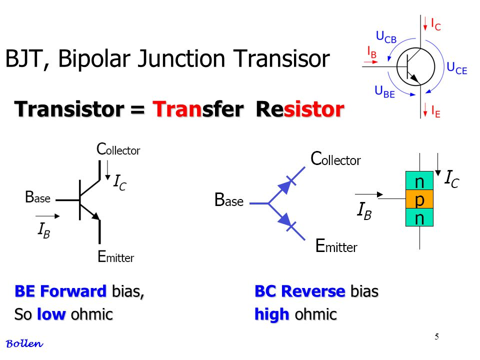 BJT, Bipolar Junction Transisor