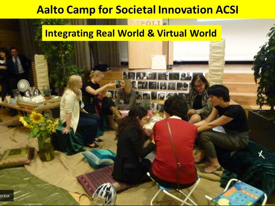 Aalto Camp for Societal Innovation ACSI