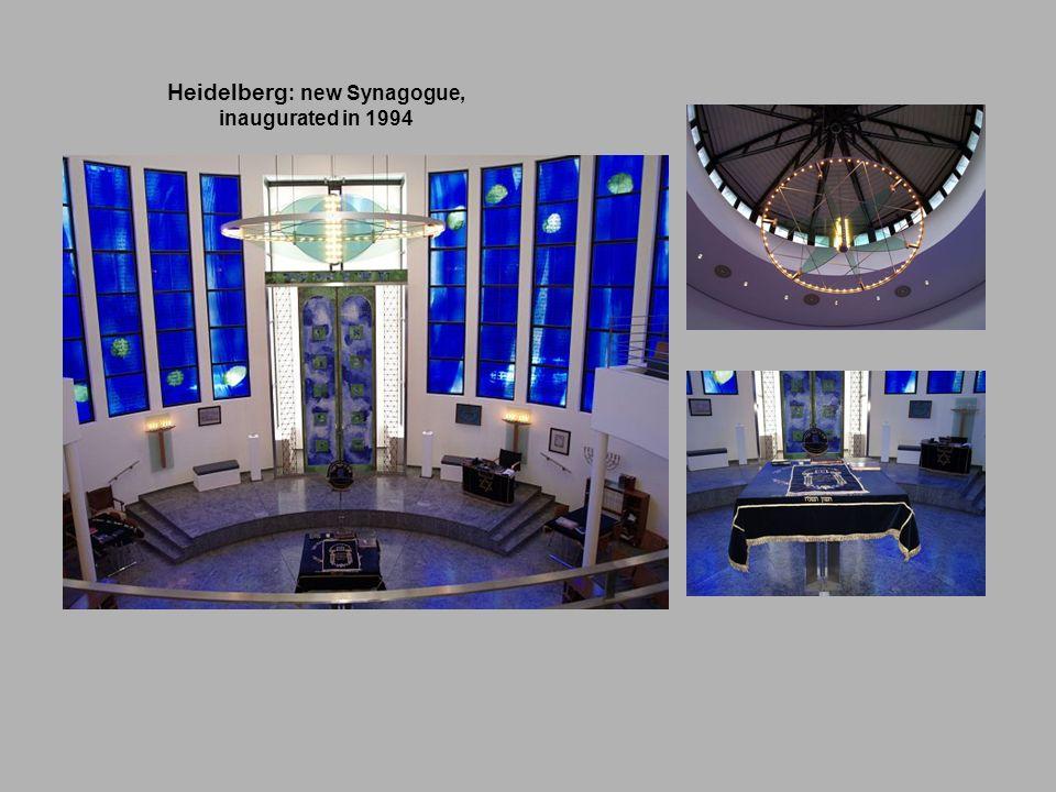 Heidelberg: new Synagogue,