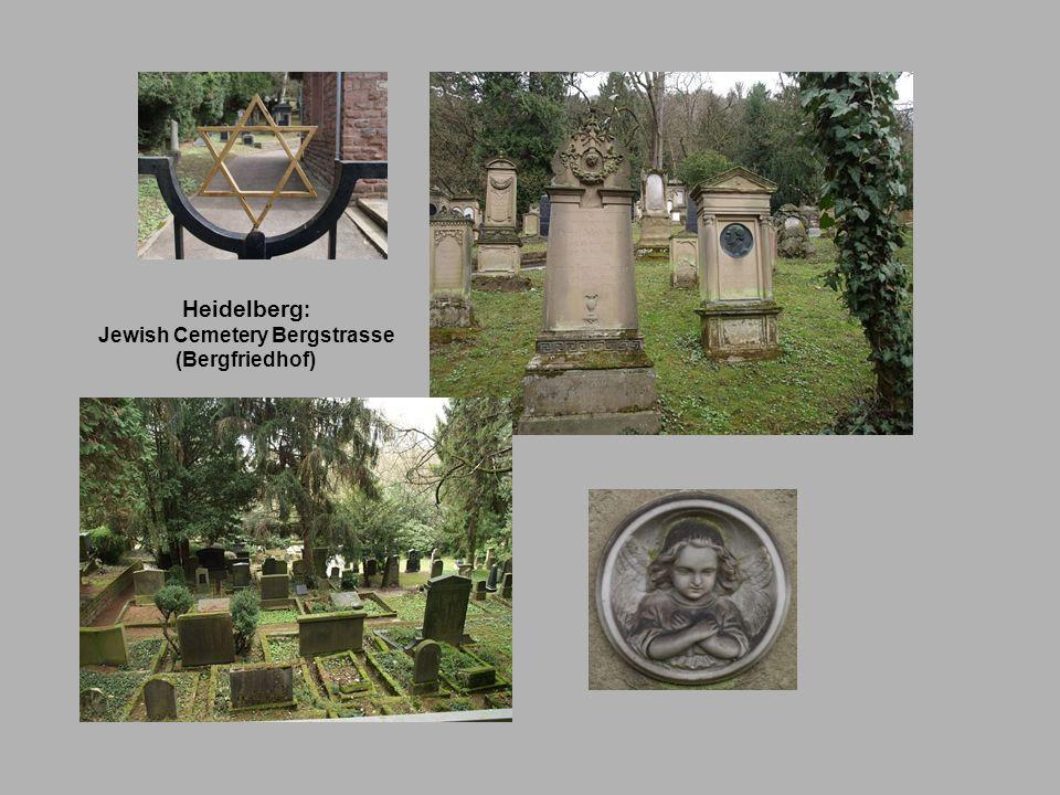Jewish Cemetery Bergstrasse