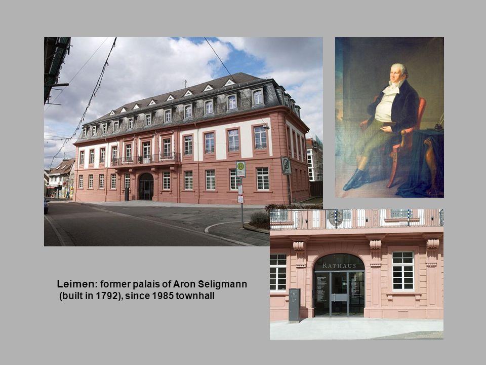 Leimen: former palais of Aron Seligmann