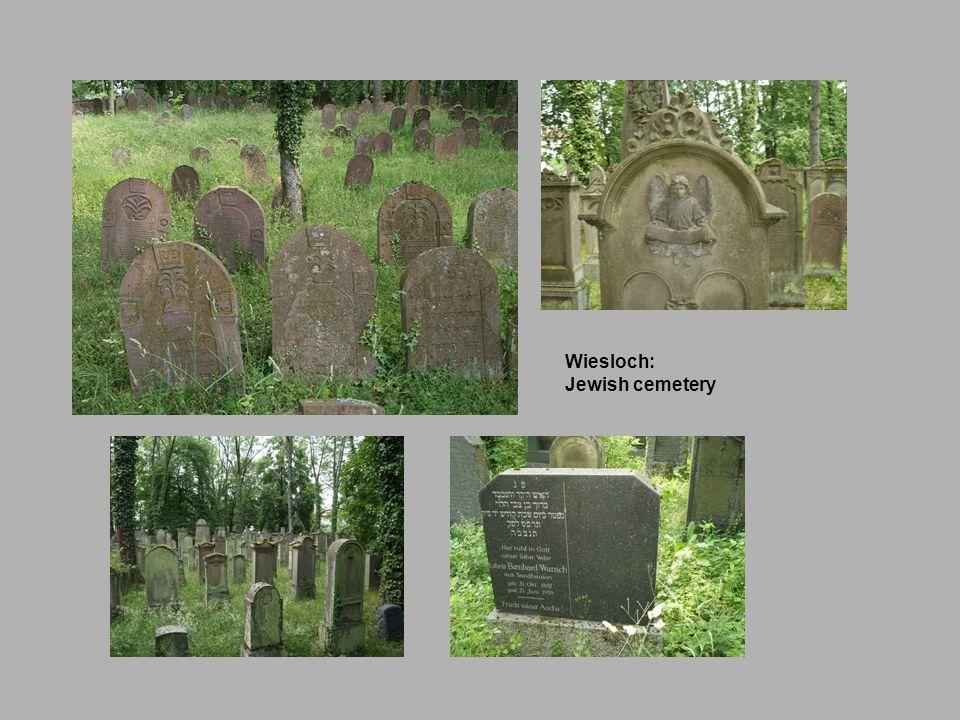 Wiesloch: Jewish cemetery