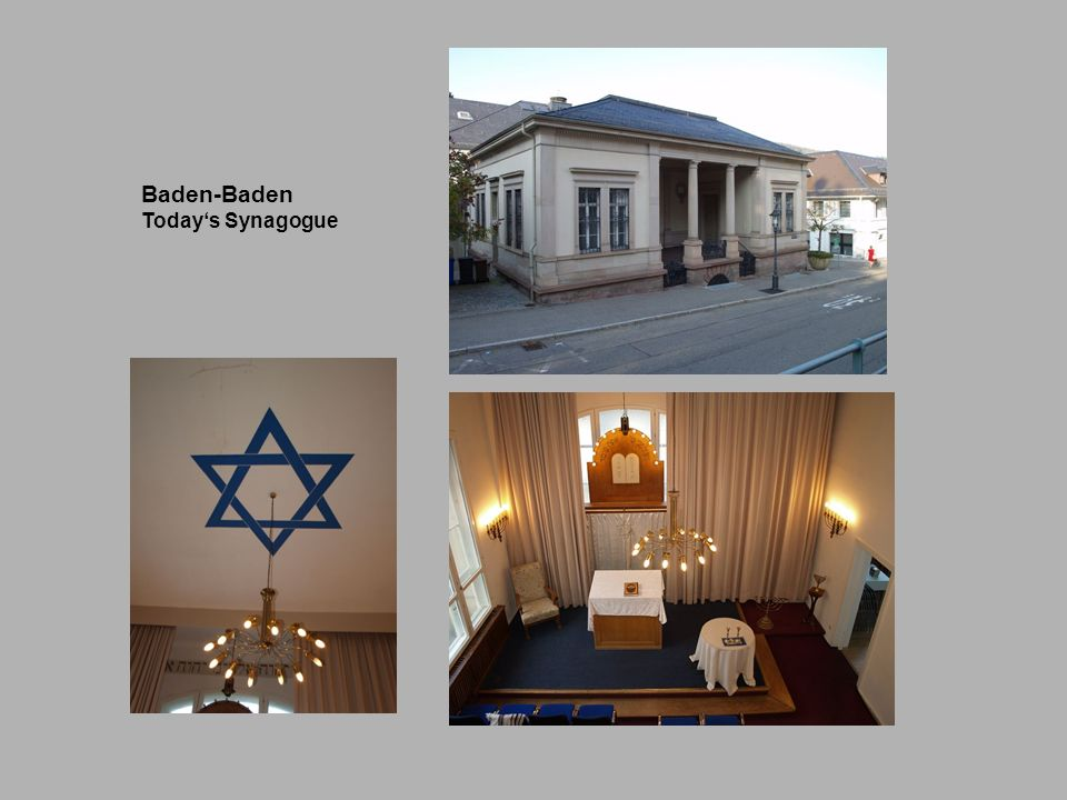 Baden-Baden Today's Synagogue