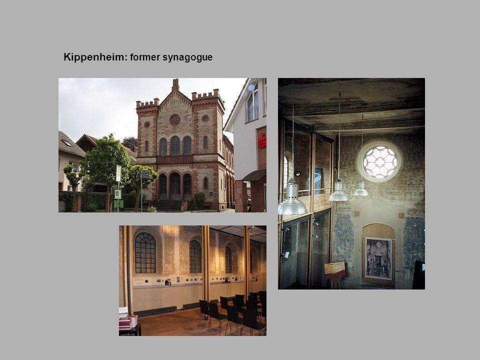 Kippenheim: former synagogue