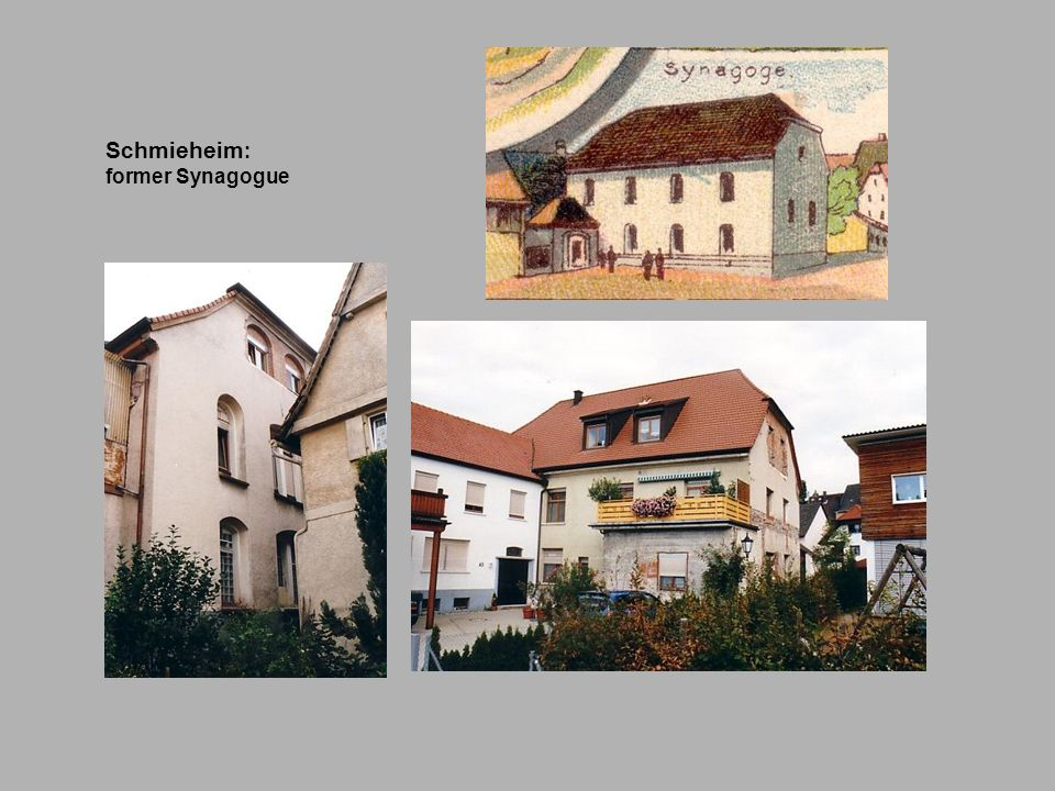Schmieheim: former Synagogue