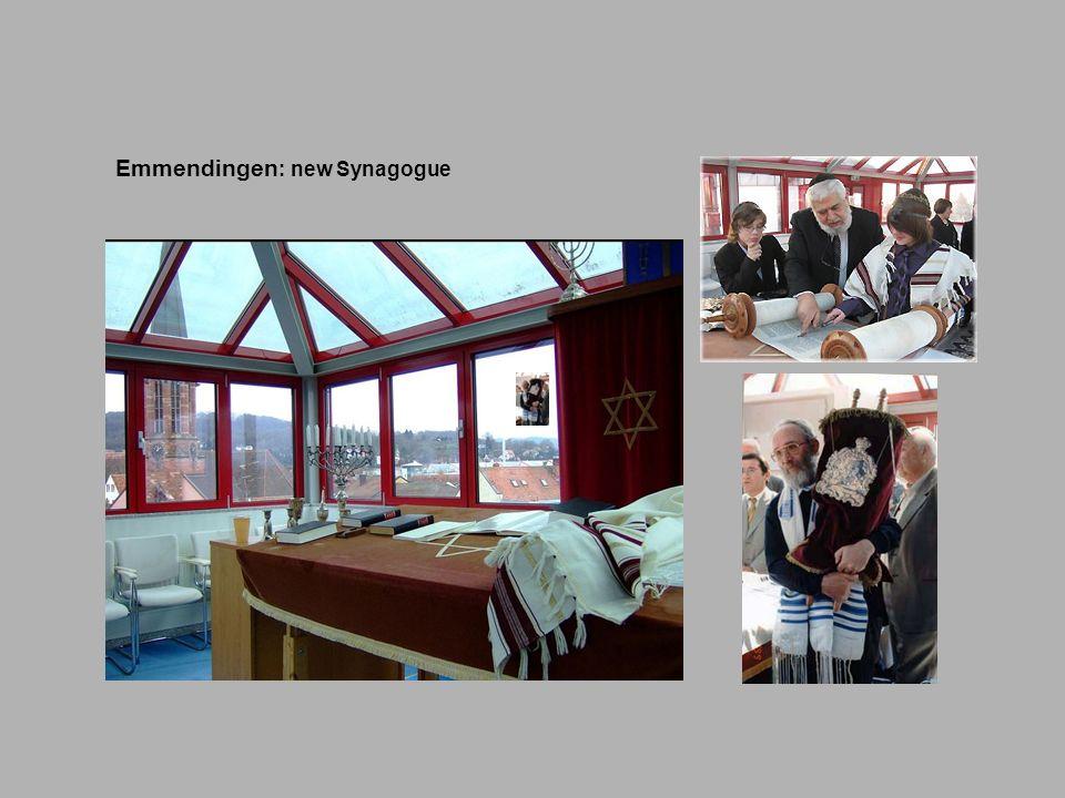 Emmendingen: new Synagogue