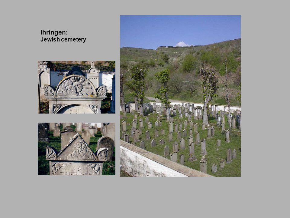 Ihringen: Jewish cemetery