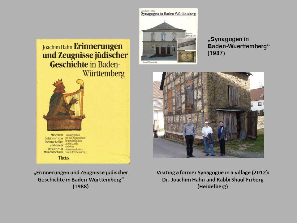"""""""Erinnerungen und Zeugnisse jüdischer"""