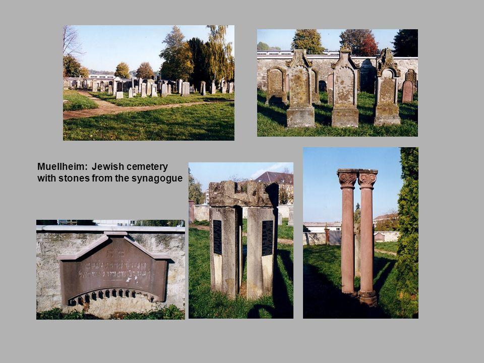 Muellheim: Jewish cemetery