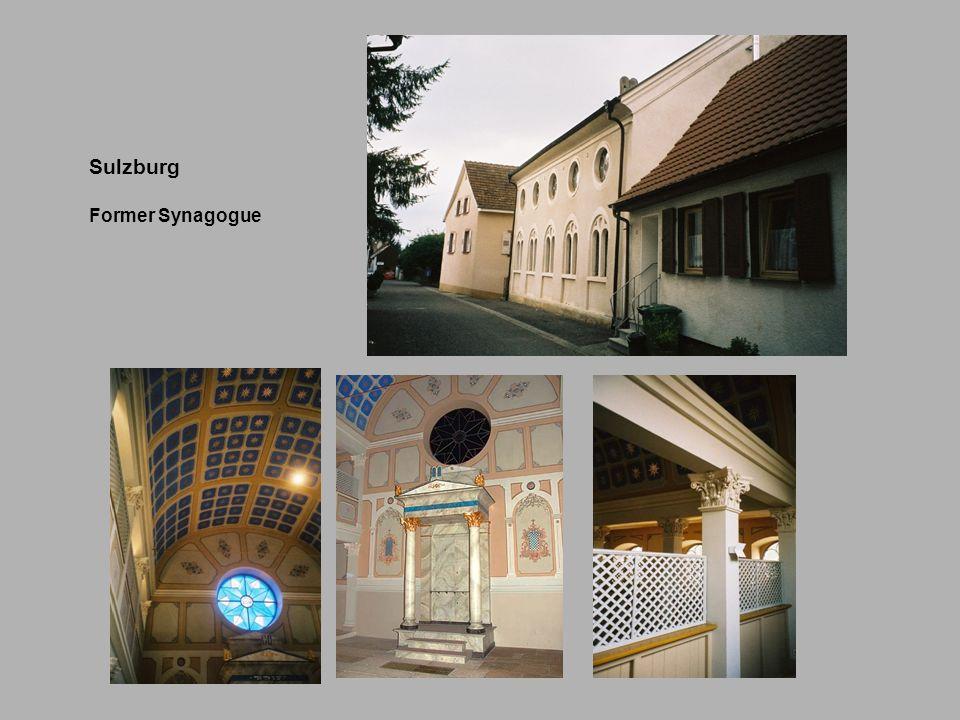Sulzburg Former Synagogue