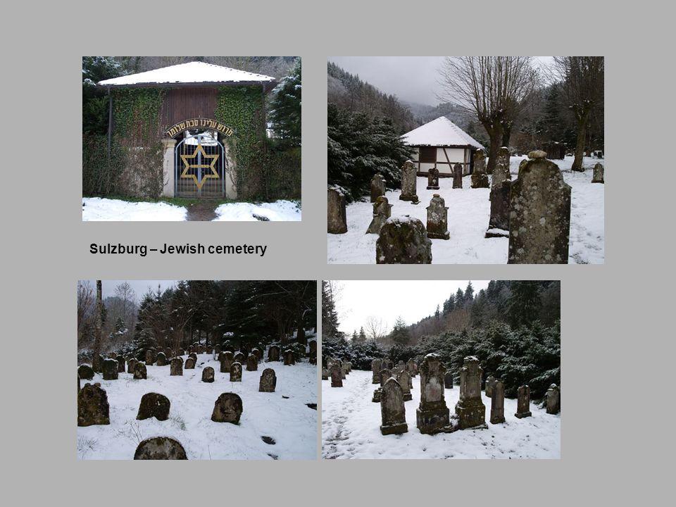 Sulzburg – Jewish cemetery