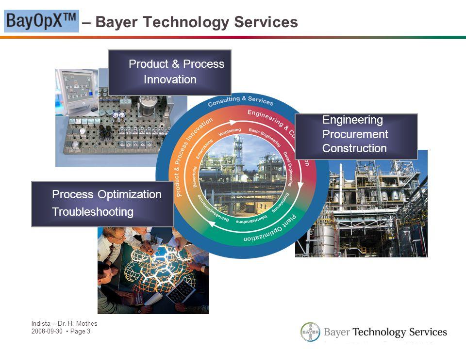 BayOpX – Bayer Technology Services