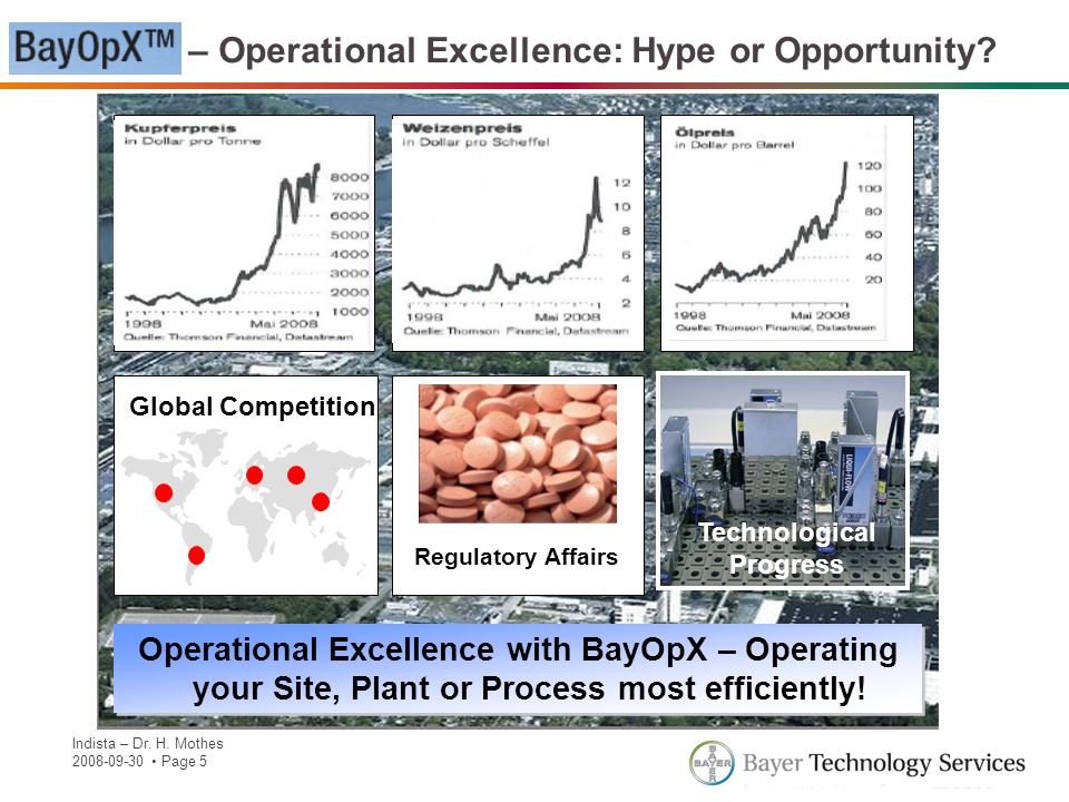 BayOpX – Operational Excellence: Hype or Opportunity