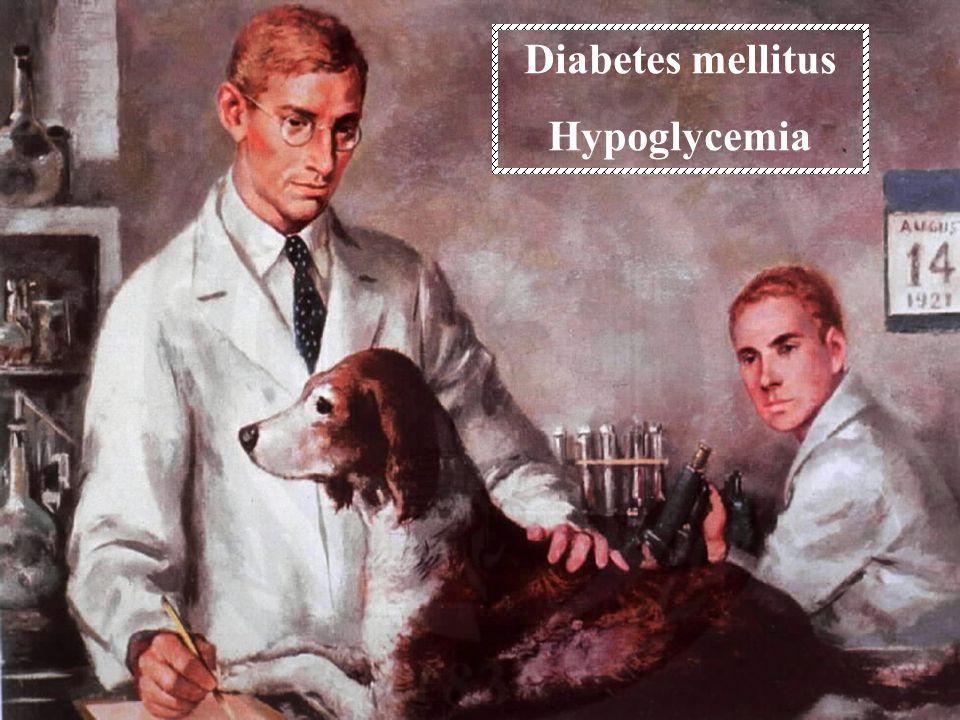 Diabetes mellitus Hypoglycemia