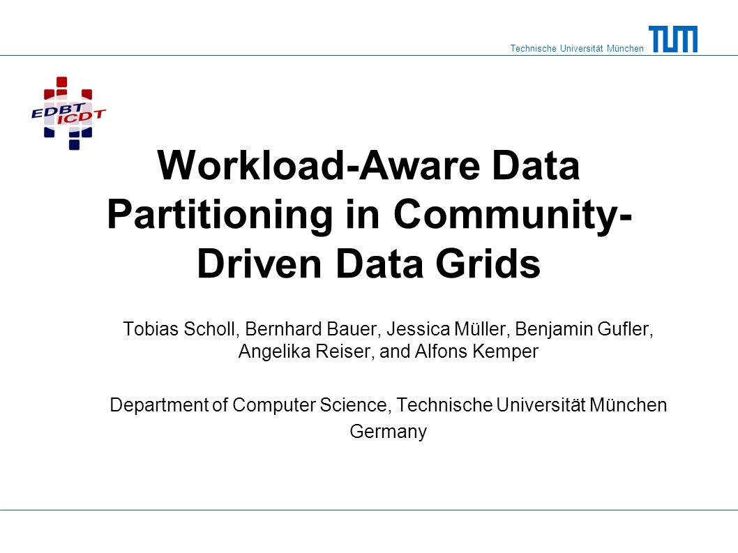 Workload-Aware Data Partitioning in Community-Driven Data Grids