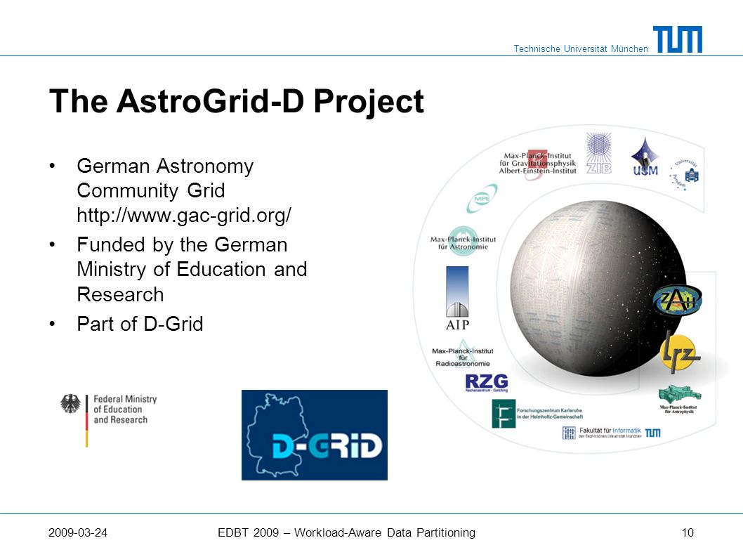 The AstroGrid-D Project
