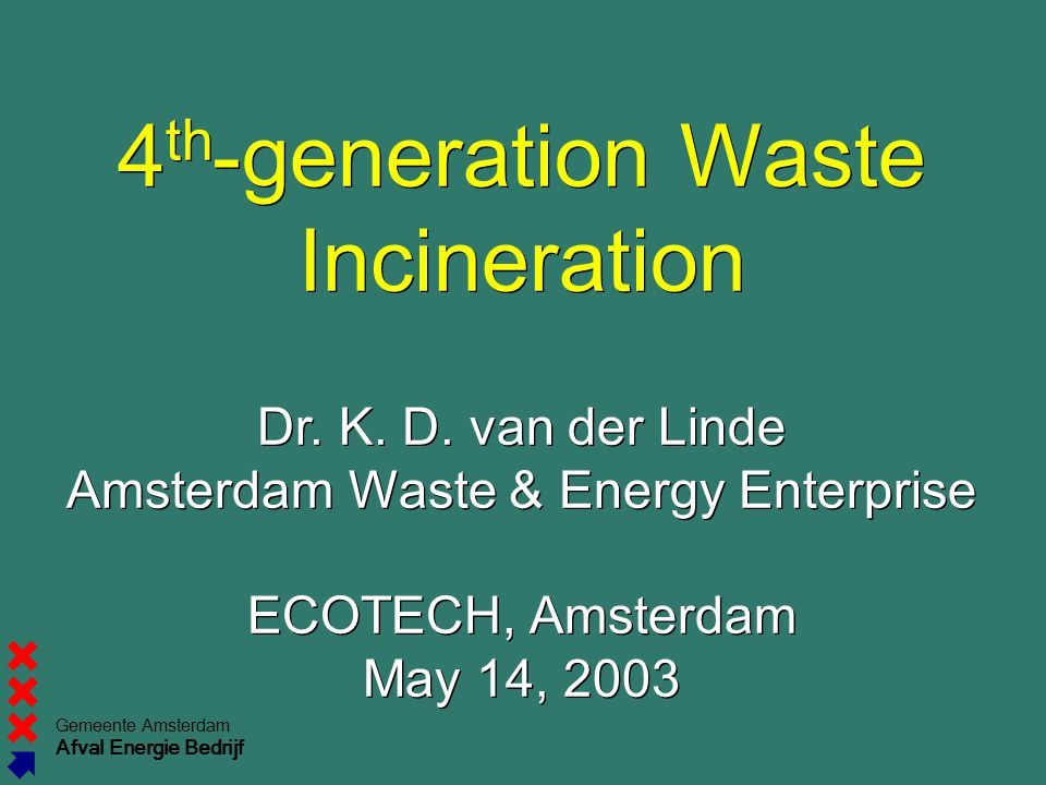 4th-generation Waste Incineration