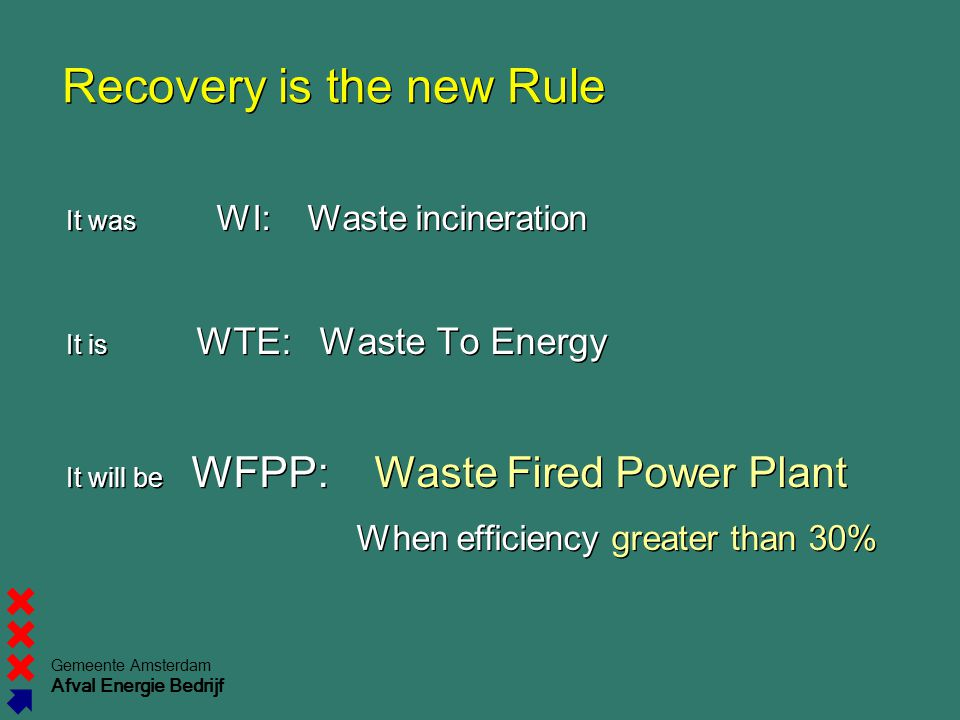 Recovery is the new Rule