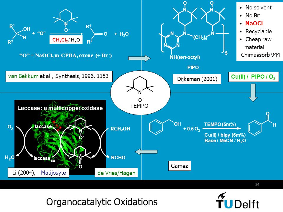 Organocatalytic Oxidations