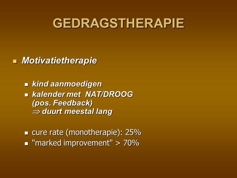 GEDRAGSTHERAPIE Motivatietherapie kind aanmoedigen
