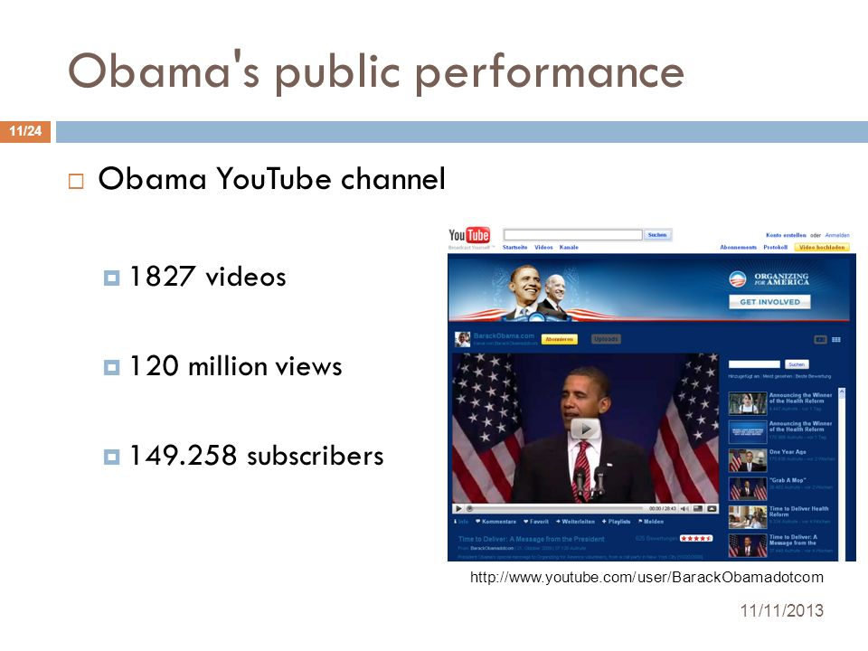 Obama s public performance