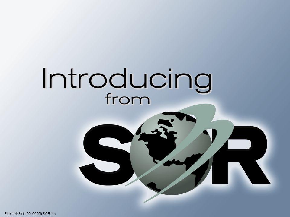 Form 1448 (11.09) ©2009 SOR Inc
