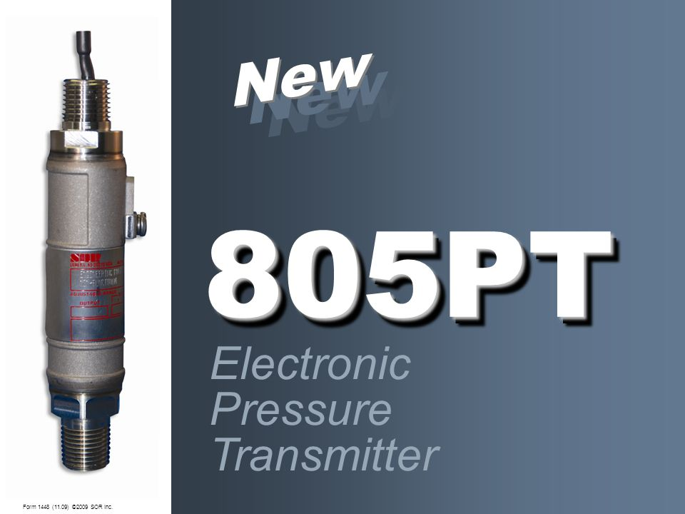 New New New 805PT Electronic Pressure Transmitter